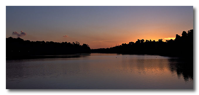 Sunset. MacRitchie Reservoir.