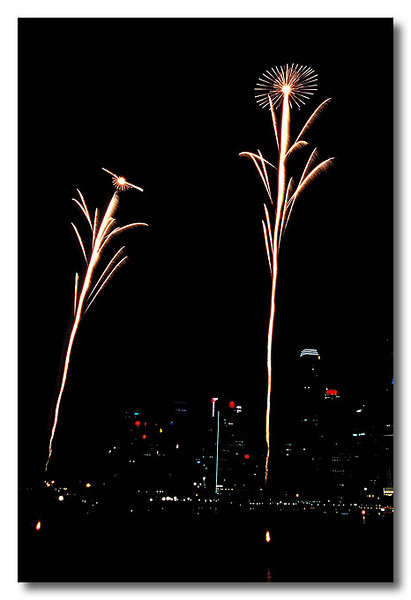 Flowers for U?. Singapore Fireworks Festival.