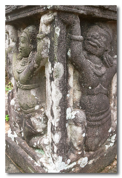 Stone carvings. My Son, Vietnam.