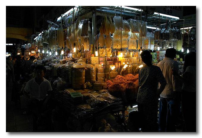 Foodstuff. Ben Thanh Market, Ho Chi Minh City (Saigon), Vietnam.