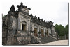 The main building of Khai Dinh's tomb, Thien Dinh. Hue, Vietnam.