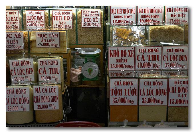 Spices. Ben Thanh Market, Ho Chi Minh City (Saigon), Vietnam.