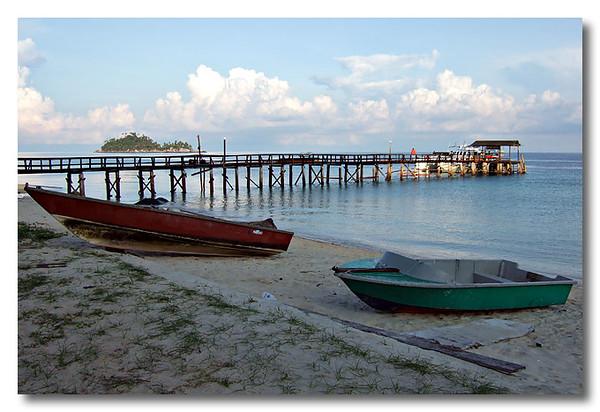 Early morning at Aur, Malaysia.