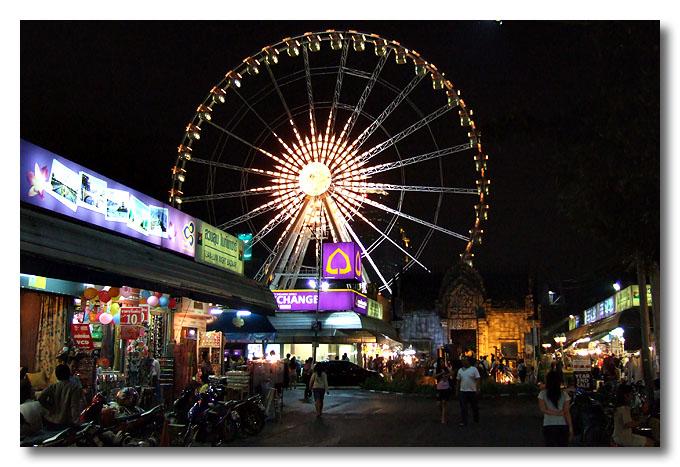 Suan Lum Night Bazaar. Bangkok, Thailand.