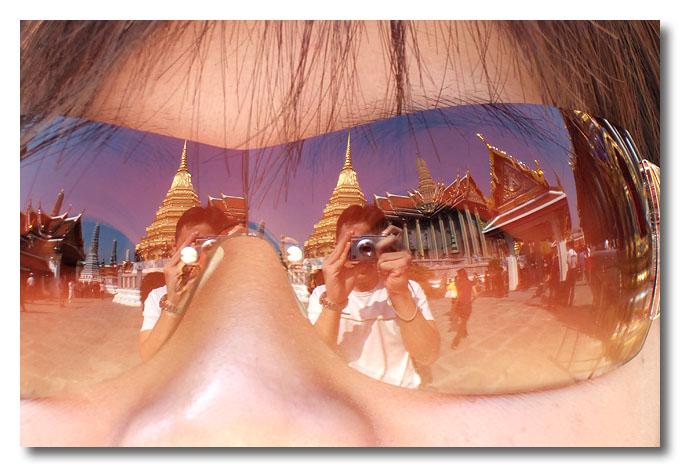 Reflections. Bangkok, Thailand.