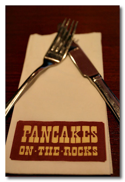 But we didn't had pancakes. =) Sydney.