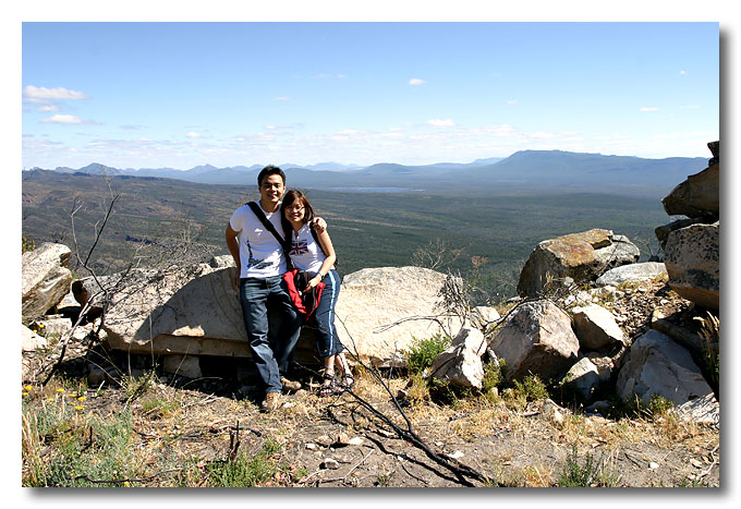 Me & wifey at Grampians National Park.