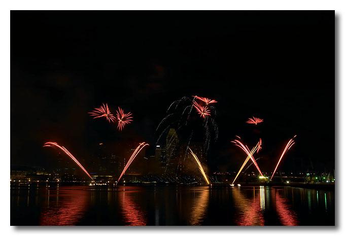 Singapore Fireworks Festival.