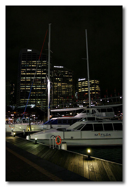 Darling Harbour. Sydney.