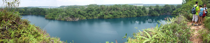 Pano shot from the highest hill of Pulau Ubin.