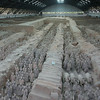 Pano view of Pit 1.  Xi'an, China.