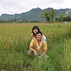 Me & wifey at the sticky rice fields.  Luang Prabang, Laos.