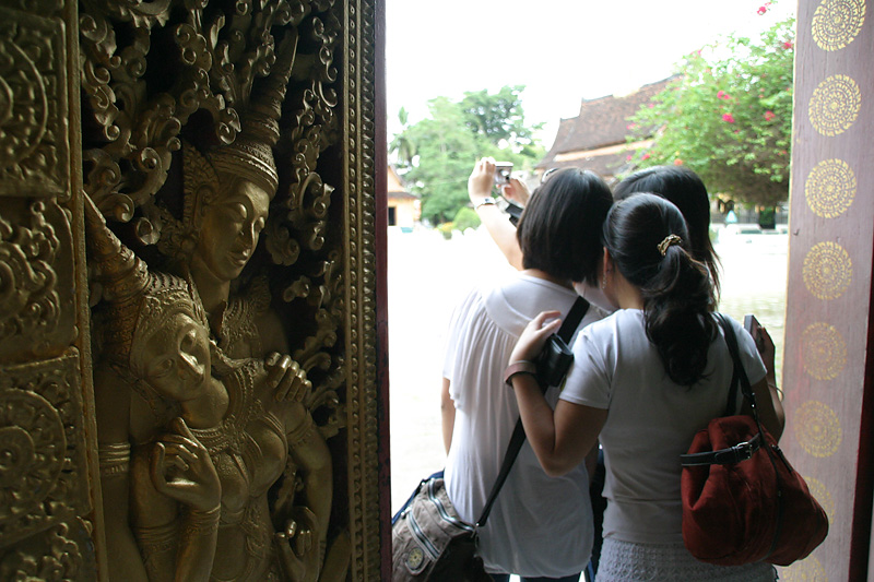 Picture time! Wat Xieng Thong, Luang Prabang, Laos.