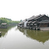 Pano view of Wuzhen.  China.