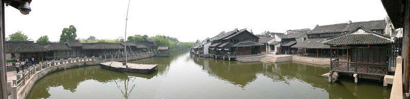 Pano view of Wuzhen.  China.