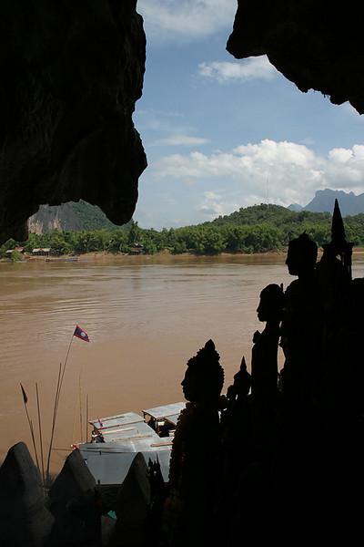 Pak Ou Caves.  Luang Prabang, Laos.