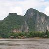 View from Pak Ou Caves.  Luang Prabang, Laos.