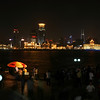 Pano view of The Bund.  Shanghai, China.