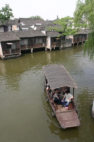 Boat ride in Wuzhen.  China.