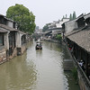 Houses and canals of Wuzhen.  China.
