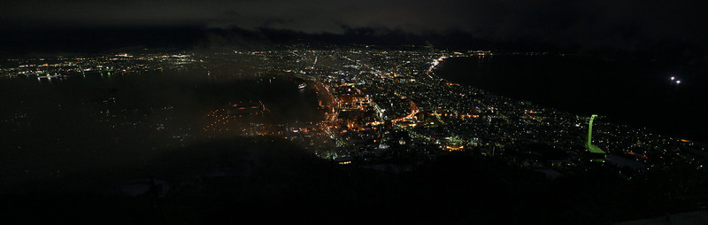 View from Mount Hakodate.