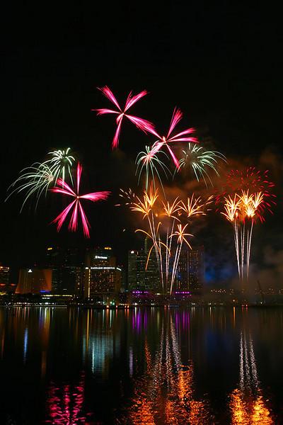 Singapore Fireworks Festival - Team France.