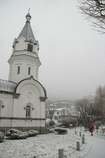 Hakodate Russian Orthodox Church.  Hokkaido, Japan.