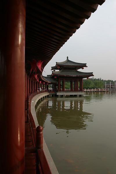Pavilion.  Xi'an, China.