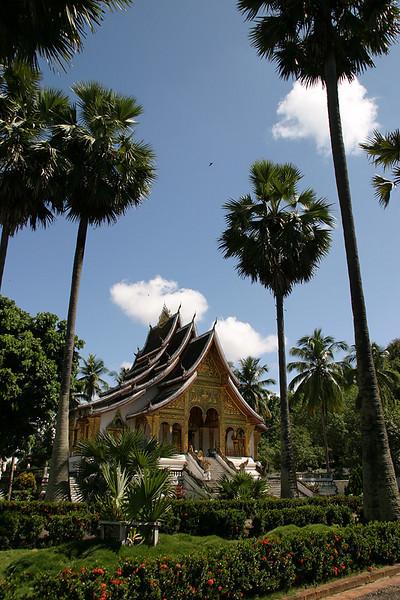 Haw Pha Bang.  Luang Prabang, Laos.