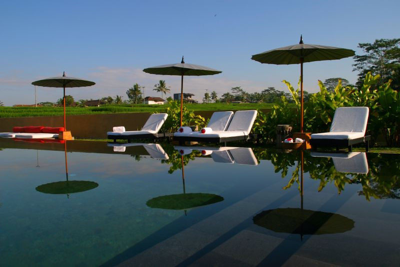 The awesome pool of Villa Amala! Bali, Indonesia.