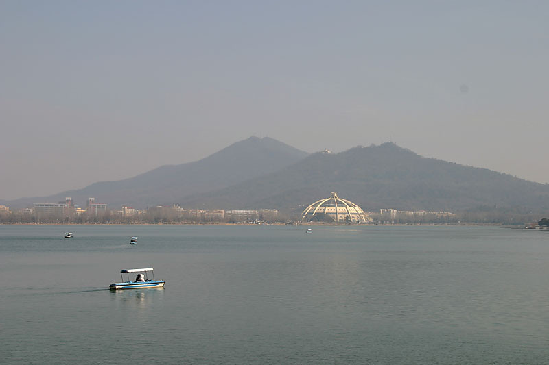 Xuanwu Lake is a lake in the central-northeast part of Nanjing, Jiangsu, China