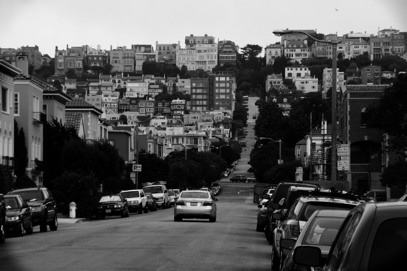 I can't remember, Lyon St? San Francisco.