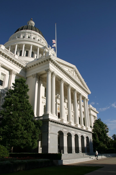 California's State Capitol Building.