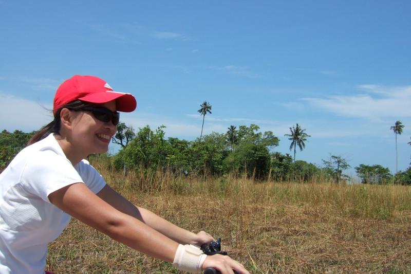 QH enjoying the sun!! Pengarang, Malaysia.