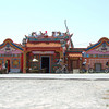 Chinese Temple. Pengarang, Malaysia.