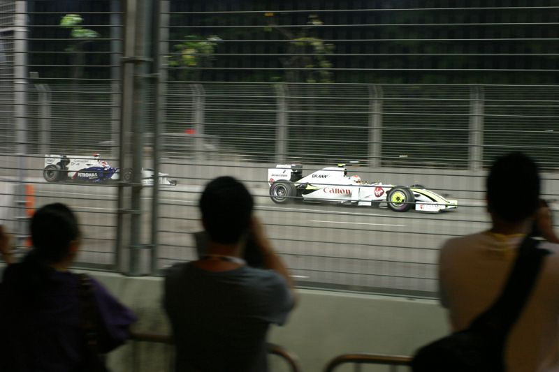 No grandstand pit stop tickets this year.  Had to make do with walkabout tickets.  2009 Formula 1 SingTel Singapore Grand Prix.
