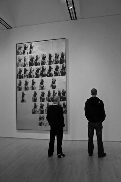 Rart of the exhibit.  Museum of Modern Art (MoMA). =) San Francisco.