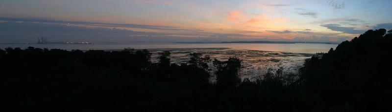Sunrise at Chek Jawa.