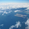 Kansai International Airport is an international airport located on an artificial island in the middle of Osaka Bay