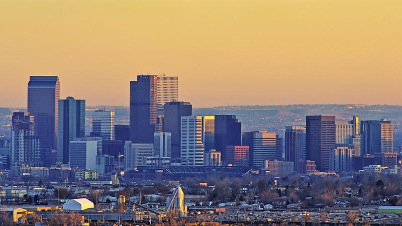 Illustrating Denver's Skyscrapers