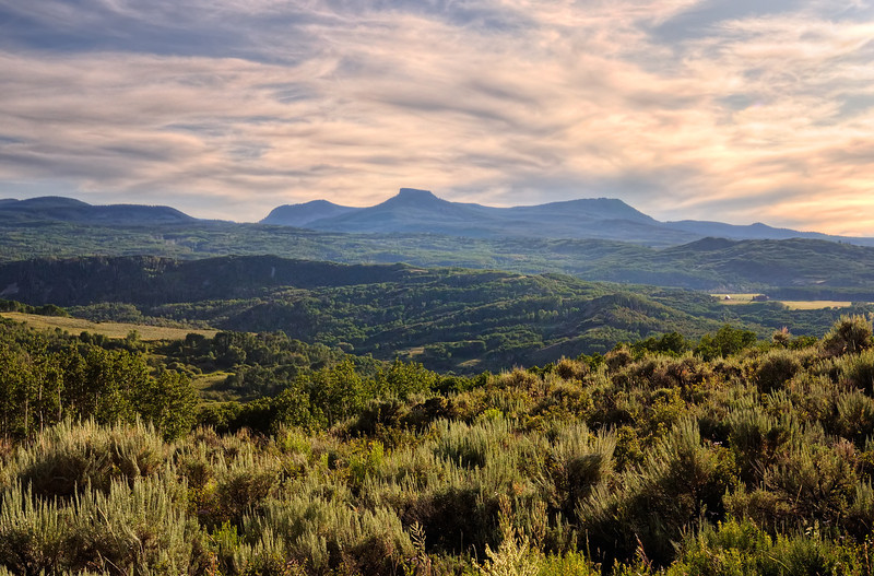 Seeing Forever in the Elkhead Mountains