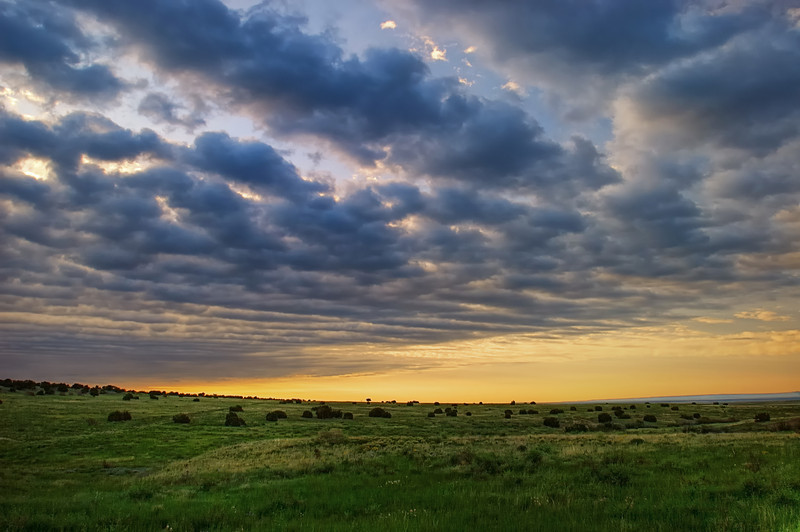 First Light on Comanche National Grassland