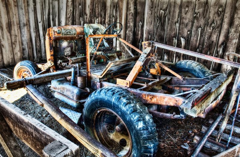 Steampunk Transport Decay