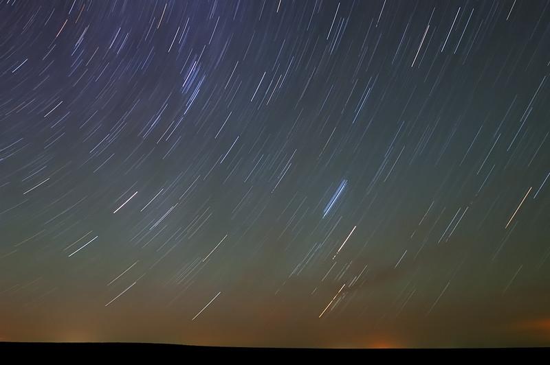 Pawnee Big Sky Star Trails