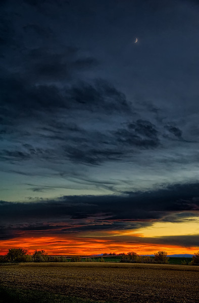 Colorado Front Range Sunset Sublime