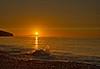 Splashy Sunset