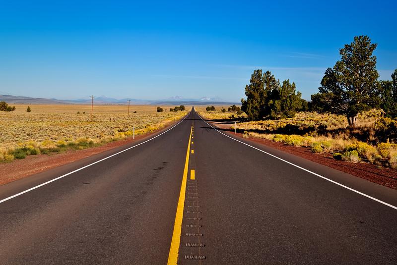 Vanishing into SE Oregon High Desert Country