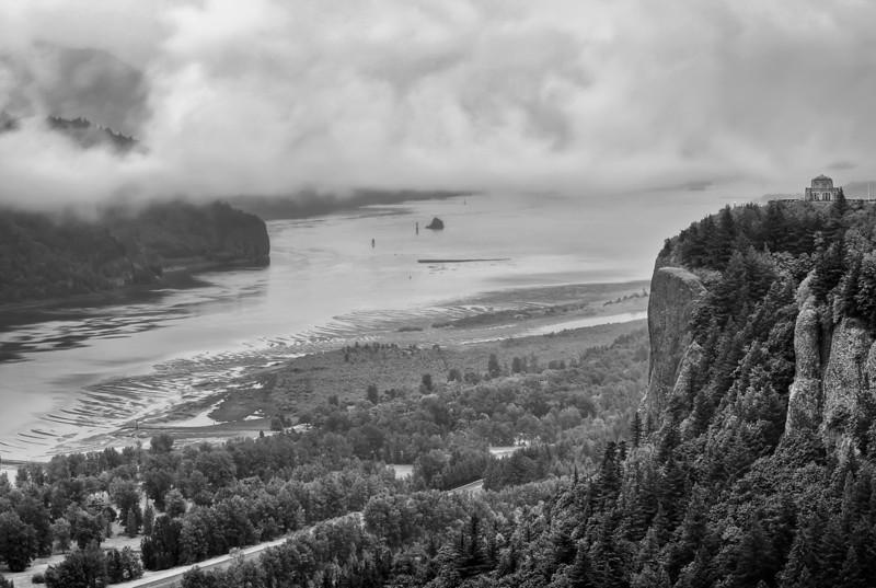 Columbia River Gorge Condensation
