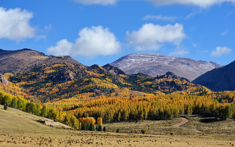 First Snow on Pike's Peak