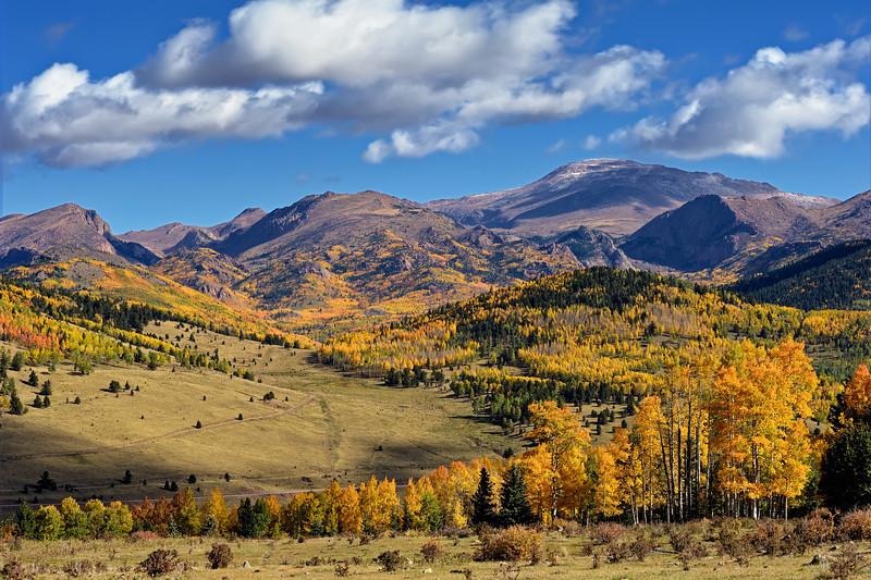 Pike's Peak Fall Grandeur